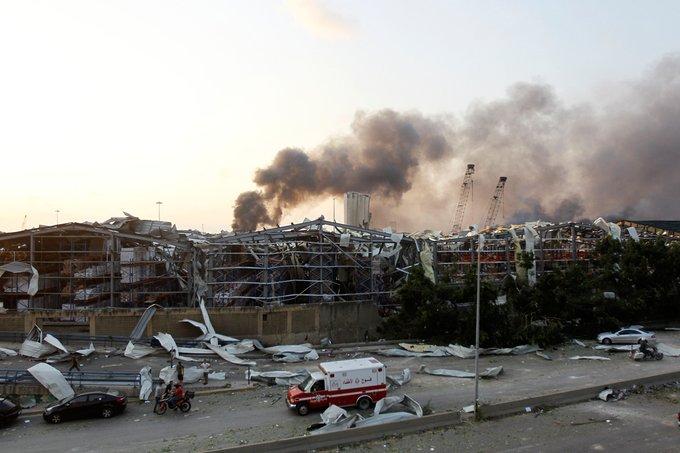 انفجار بندر بیروت به روایت تصاویر