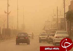 تداوم گرد و غبار در استان مرکزی