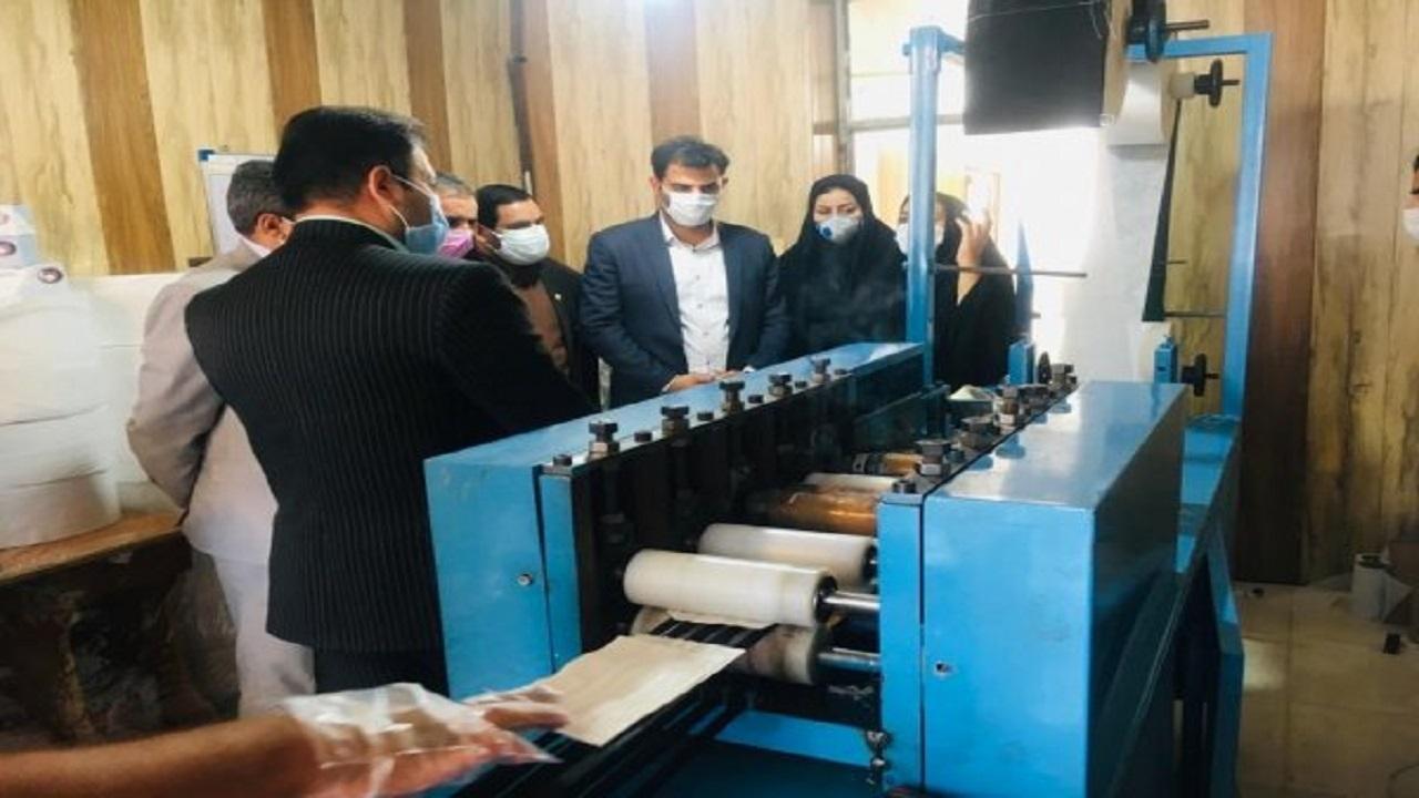 تولید روزانه ۶۰ هزار ماسک در تربت حیدریه
