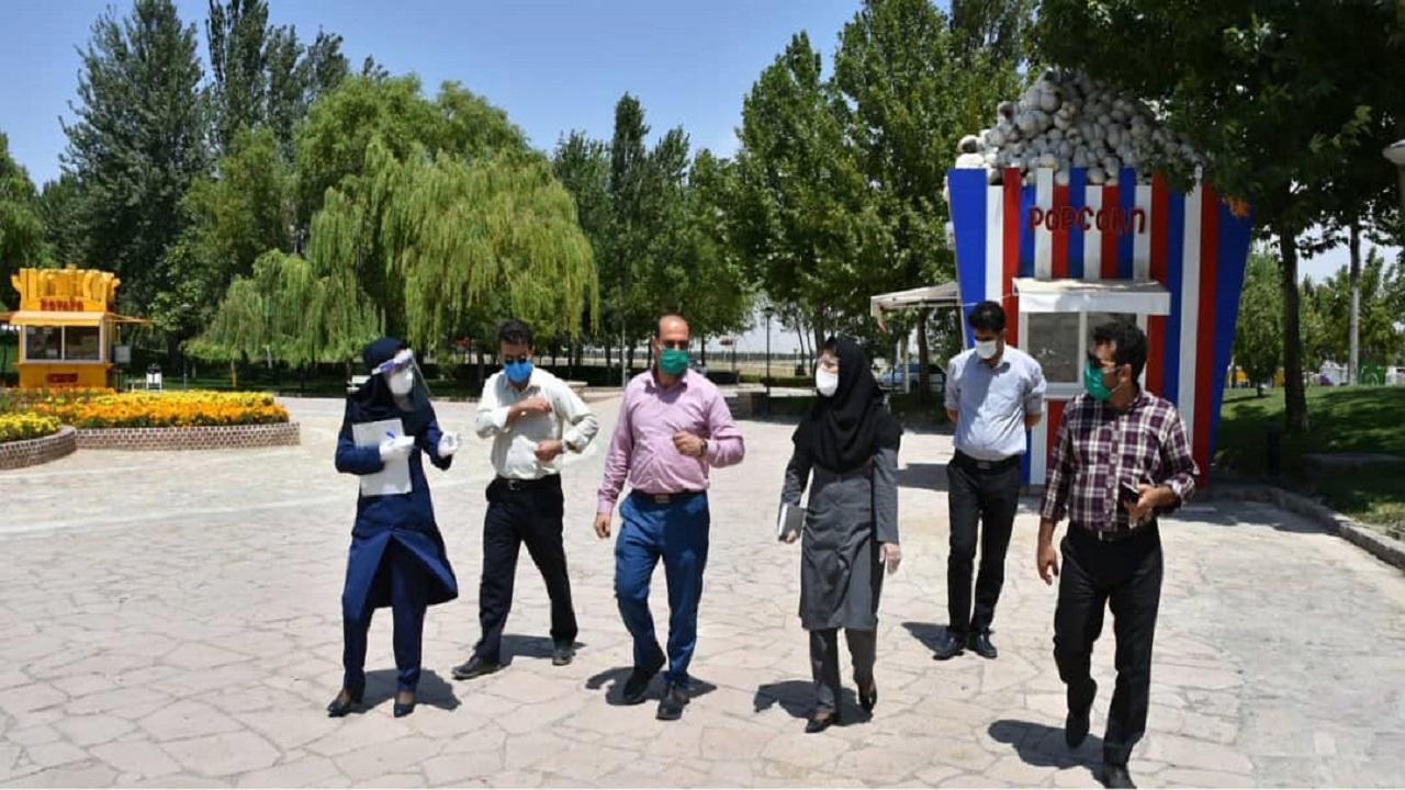 احیا وزیبا سازی مجموعه تفریحی توریستی سنجاقک (دریاچه گلبهار) در دستور کار کمیته زیبا سازی
