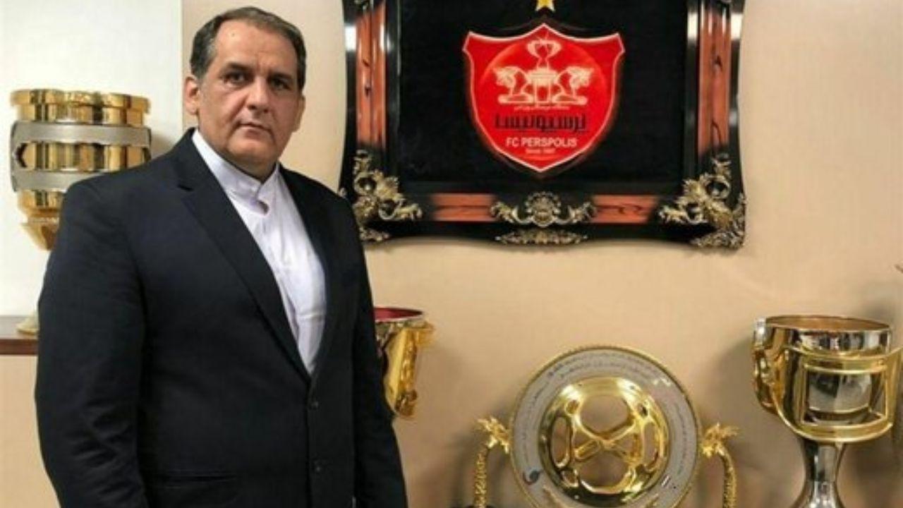 مدیر بازداشتی در باشگاه پرسپولیس