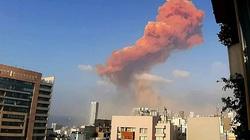 تصویری نزدیک از سوله منهدم شده در انفجار دیروز بیروت