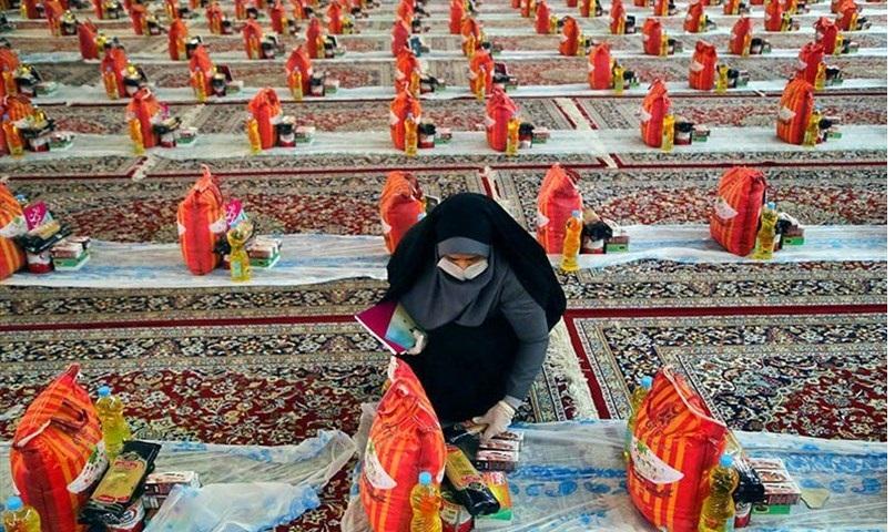 توزیع بیش از ۵ هزار  بسته معیشتی بین نیازمندان در خراسان شمالی