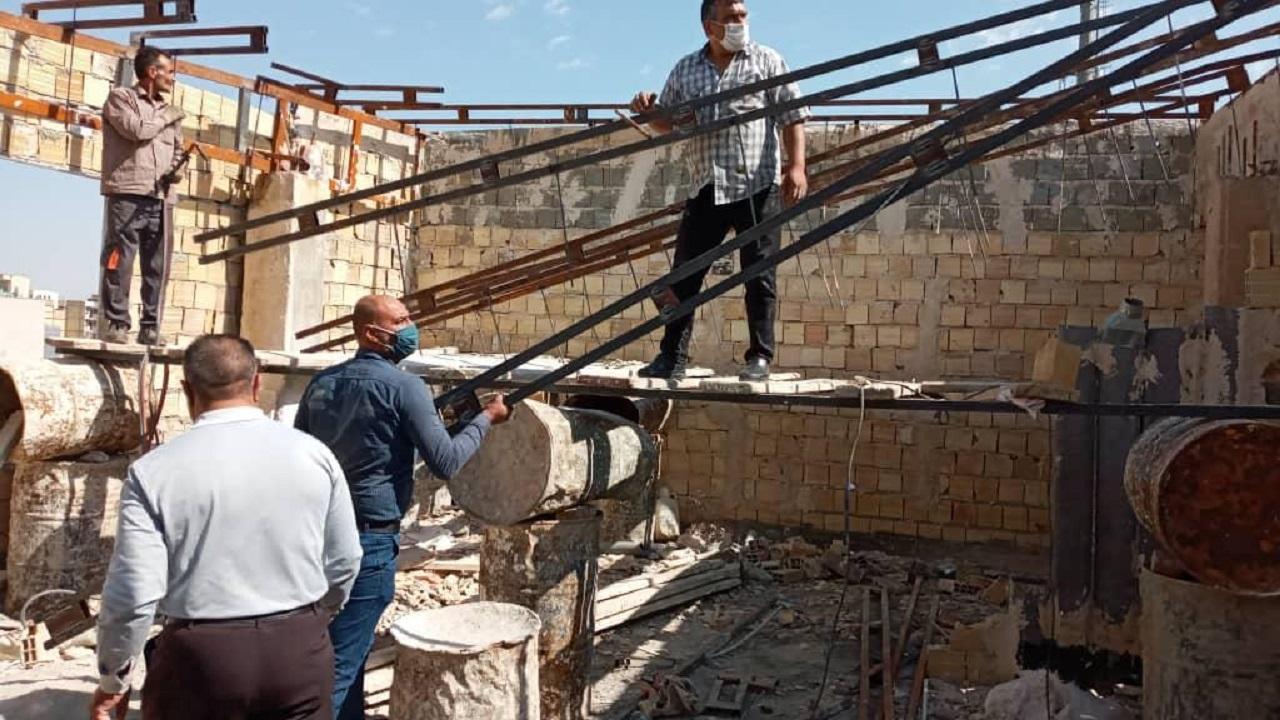 تخریب ۲ مورد ساخت و ساز غیر مجاز در فردیس