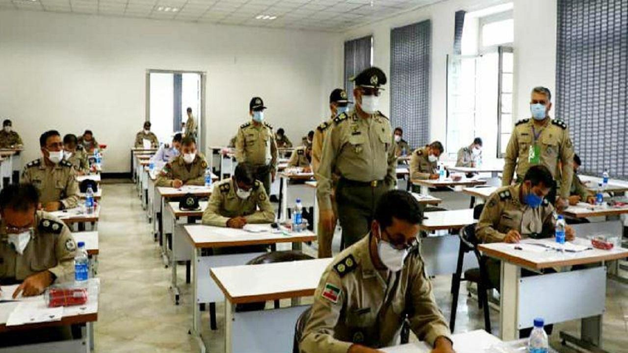 آزمون ورودی کارشناسی ارشد دافوس ارتش برگزار شد