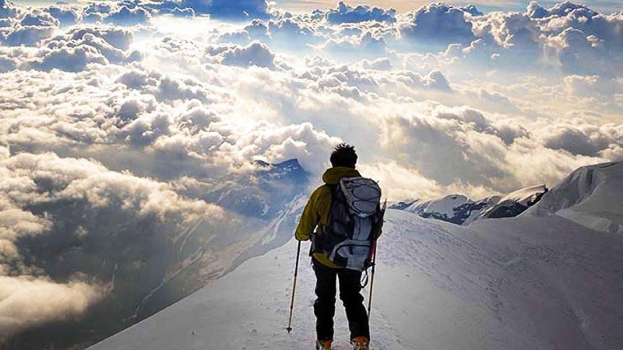 یک کوهنورد به کرونا مبتلا شد