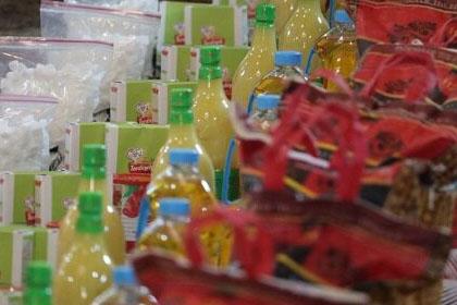 توزیع ۹۰۰ بسته معیشتی در جلفا