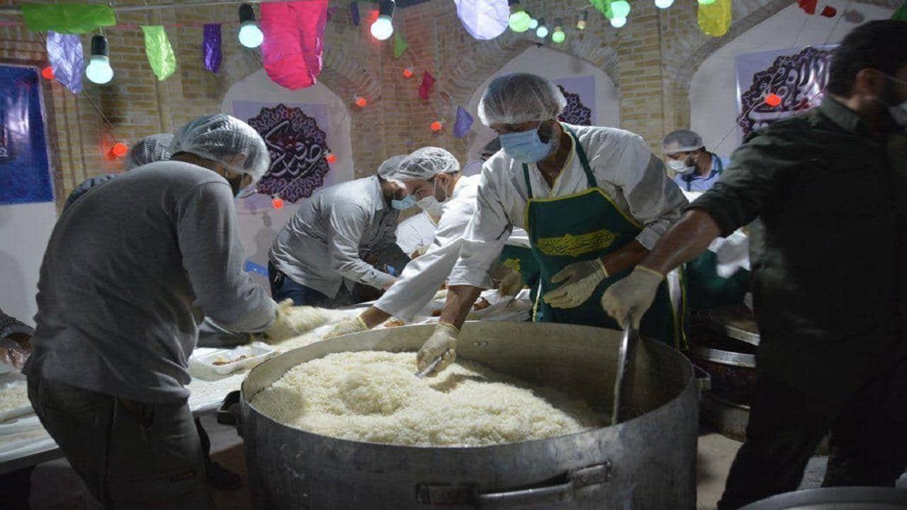 توزیع ۵ میلیون اطعام غذای گرم و ۵ هزار جهیزیه در مناطق محروم در روز عیدغدیر