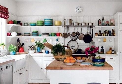 راهکاری برای استفاده بهینه از فضای آشپزخانه