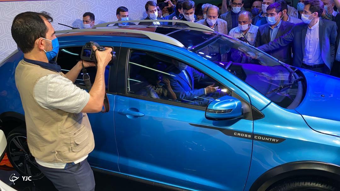 رونمایی رسمی از خودروی جدید سایپا + تصاویر