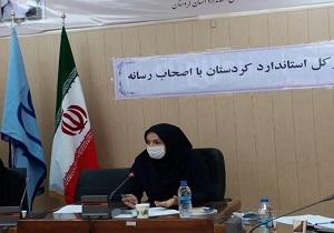 ژیلا یزدانی مدیرکل استاندارد کردستان