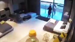 لحظه انفجار وحشتناک بندر بیروت از دوربین مداربسته یک خانه + فیلم