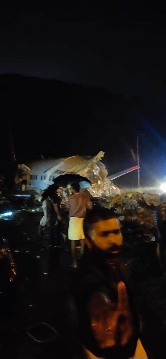 سانحه برای هواپیمای هندی با ۱۹۱ مسافر در هنگام فرود 01