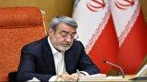 وزیر کشور عید غدیر را تبریک گفت