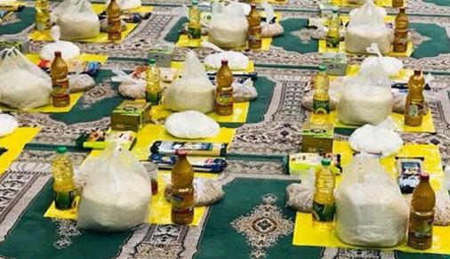 توزیع ۷۰۰ بسته غذایی و بهداشتی در ملکان