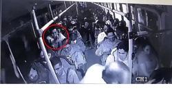 درگیری مسلحانه در داخل اتوبوس پر از مسافر!