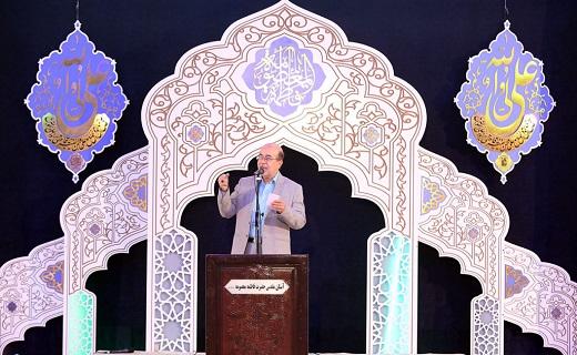مداحی حاج عباس حیدرزاده در حرم مطهر