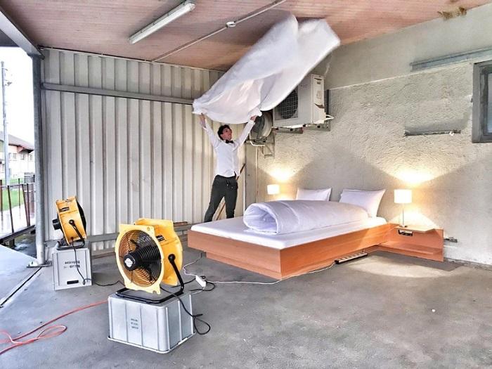 عجیبترین هتل دنیا در سوئیس: هتلی بدون در و دیوار و پنجره + تصاویر