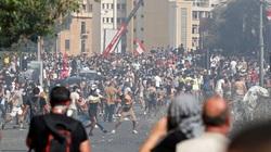 به خشونت کشیده شدن اعتراضات در بیروت