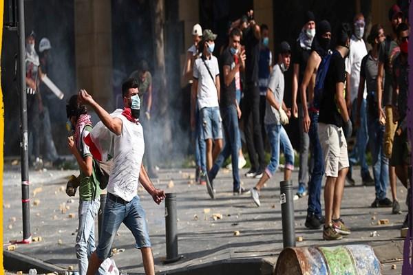 حمایت آمریکا از آشوبگران لبنانی