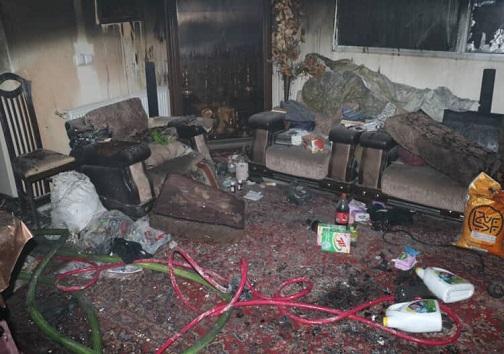 انفجار در منزل مسکونی ۴ طبقه در شهرک میلاد اصفهان