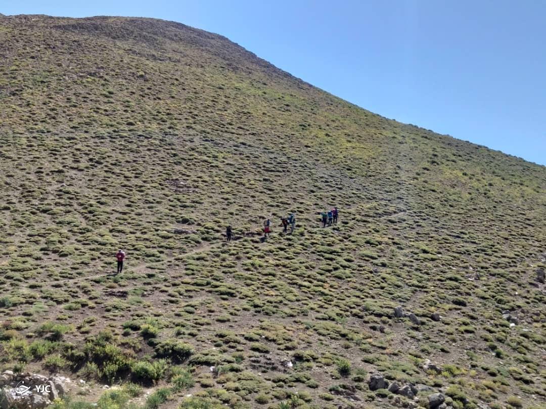 فتح قله سه هزار متری در ماهیدشت