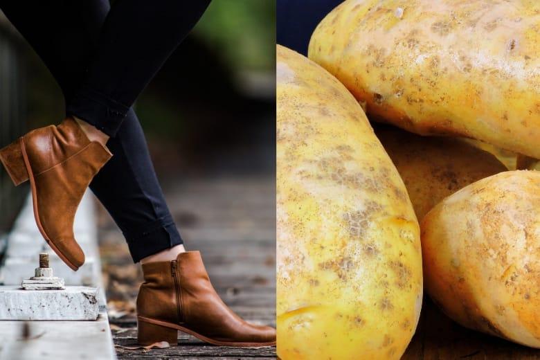 ترفند: چرا باید در کفش نوی خود ، سیب زمینی بگذارید ؟