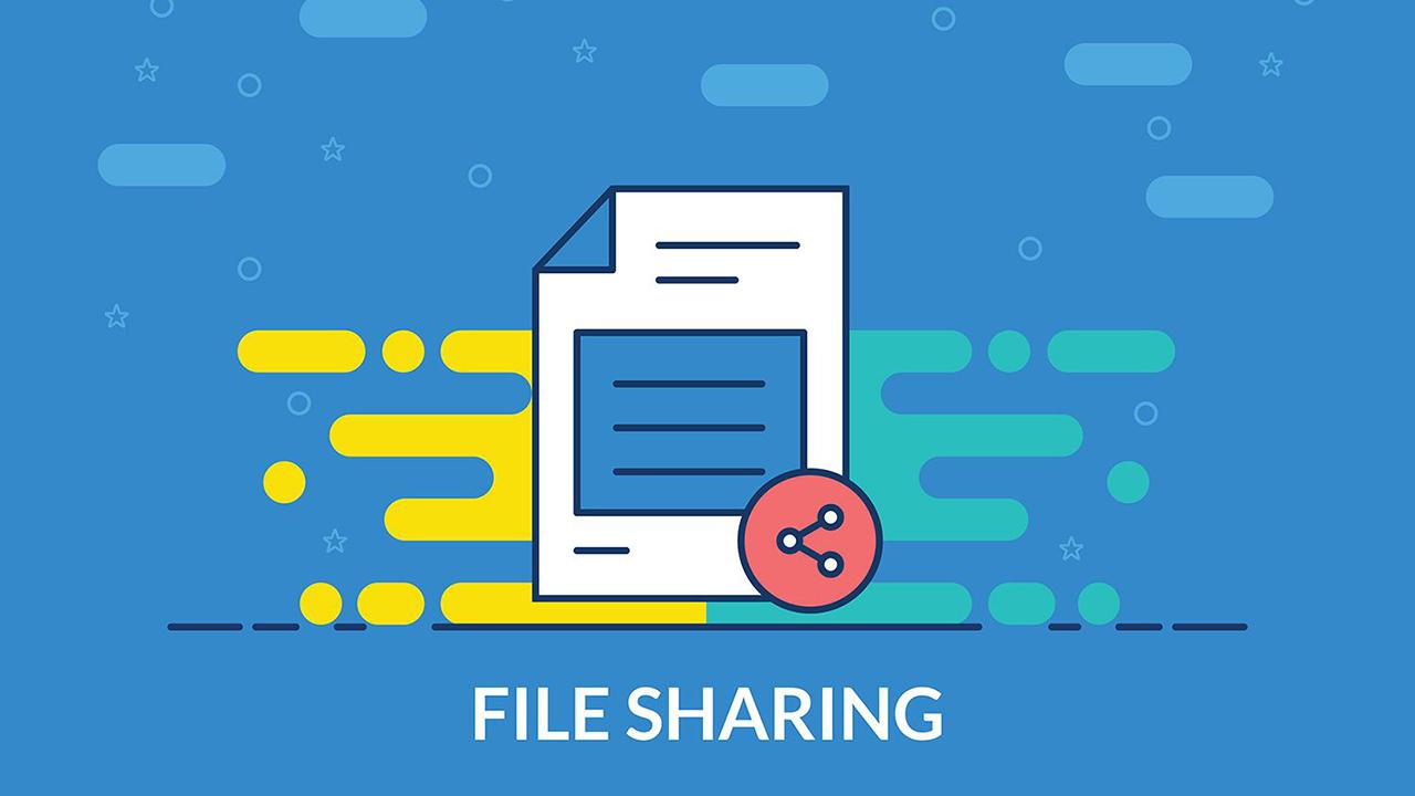 خاموش کردن اشتراک گذاری فایل ها
