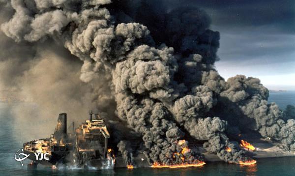 انفجار نفتکش بریجتون توسط رزمندگان ایرانی، تیر آخر در جنگ نفتکشها + تصاویر