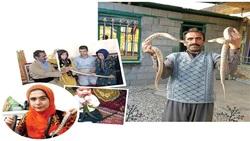 زندگی عجیب شهروند کرمانشاهی با خزندگان مرگبار/ مرد ضد زهر: مار ضامن وامم شد!