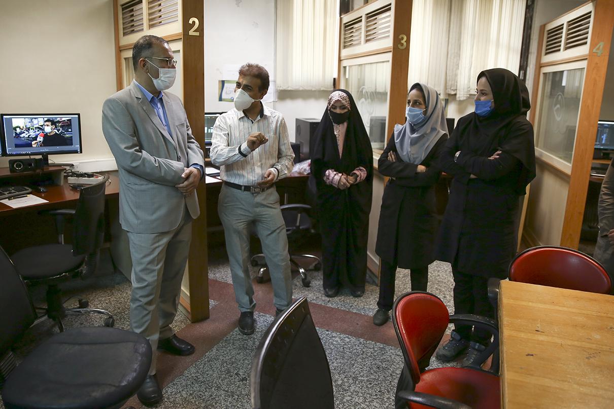رئیس فدراسیون و مدیر تیمهای ملی تریر و کمان در باشگاه خبرنگاران جوان حضور یافتند