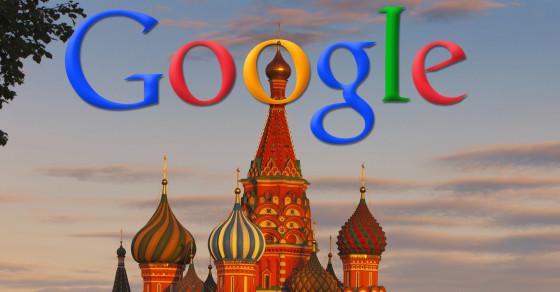 جریمه گوگل در روسیه