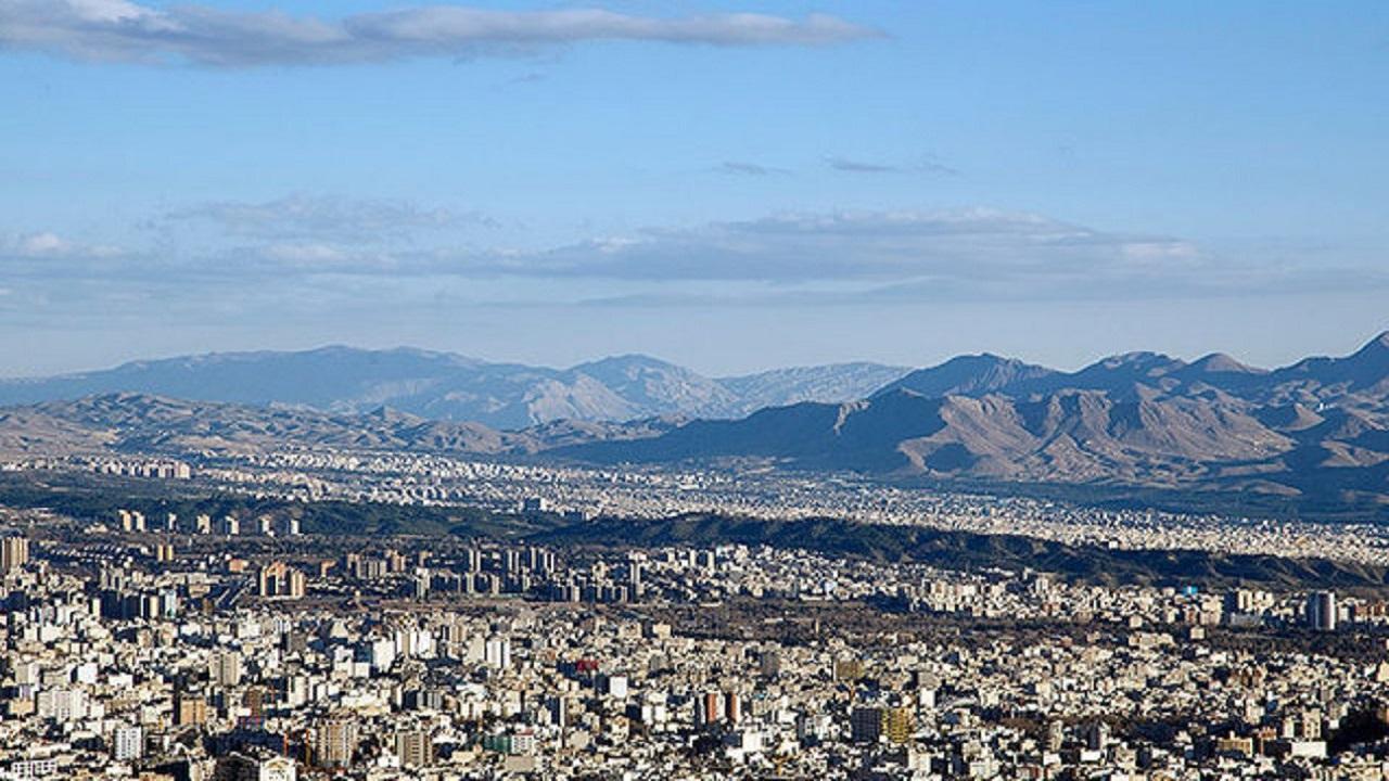 هوای پایتخت در مرز وضعیت ناسالم برای گروه های حساس