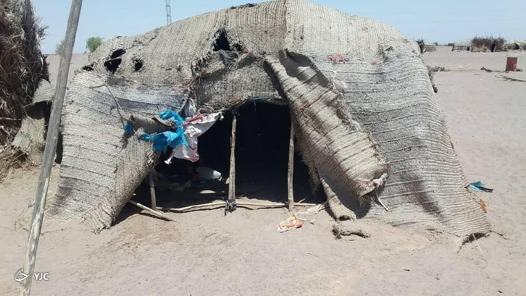 روستایی با حداقل امکانات اولیه در جنوب کرمان