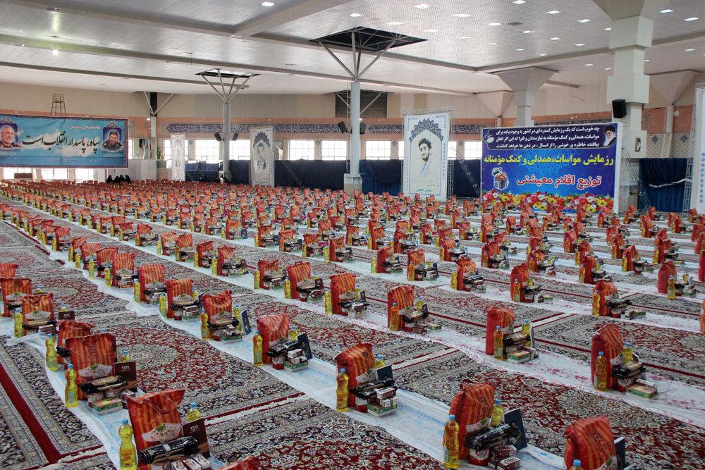 توزیع ۳۱ هزار بسته غذایی بین نیازمندان خراسان شمالی
