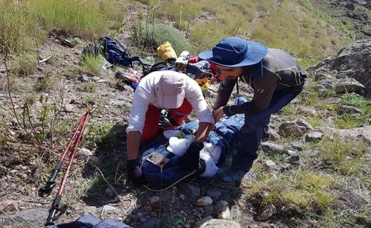 پیدا شدن جسد کوهنورد تهرانی در قله دماوند