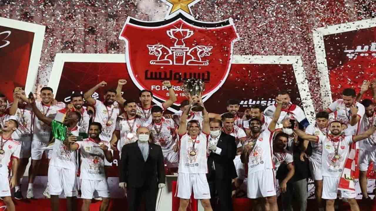 حواشی جشن قهرمانی تیم پرسپولیس