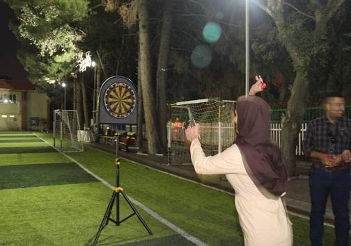 برگزاری مراسم تجلیل از خبرنگاران در فضایی همراه با نشاط