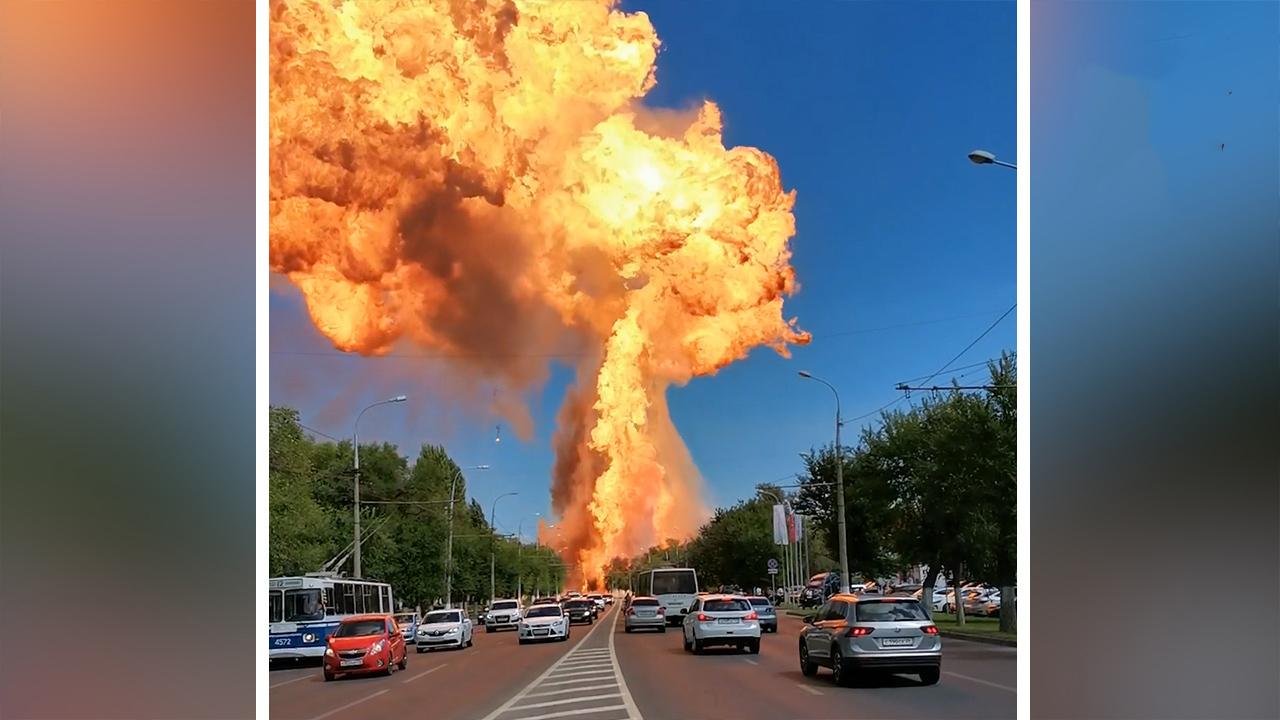 انفجار مهیب