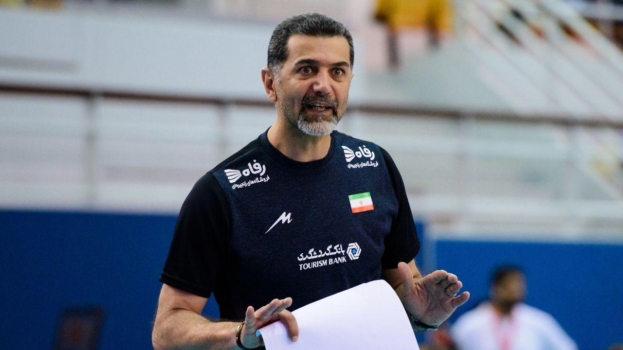 عطایی گزینه اصلی هدایت تیم ملی والیبال ایران