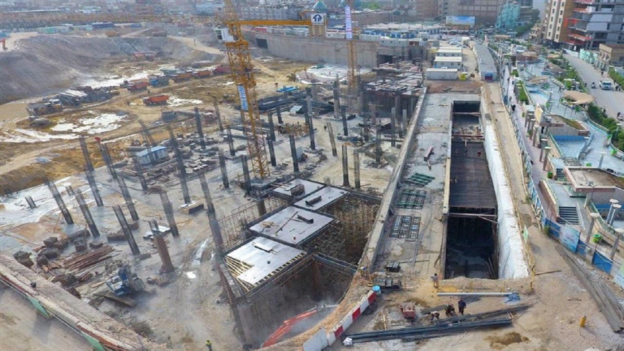 پایان پروژه صحن حضرت زینب(س) در سه سال آینده