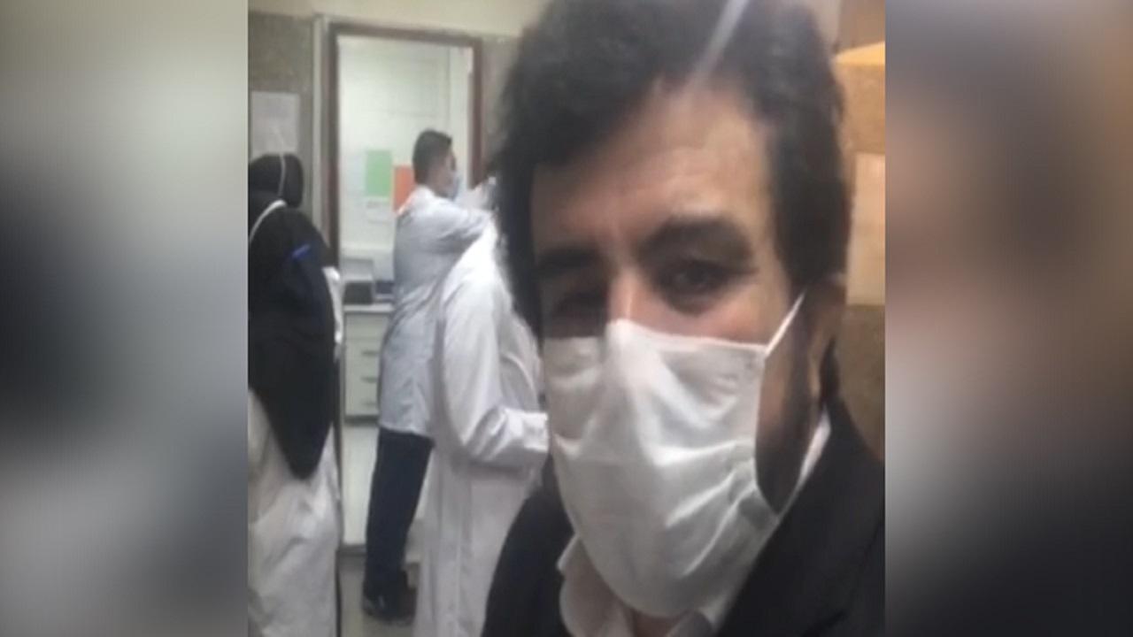 خبرنگار صدا و سیما کرونا را شکست داد