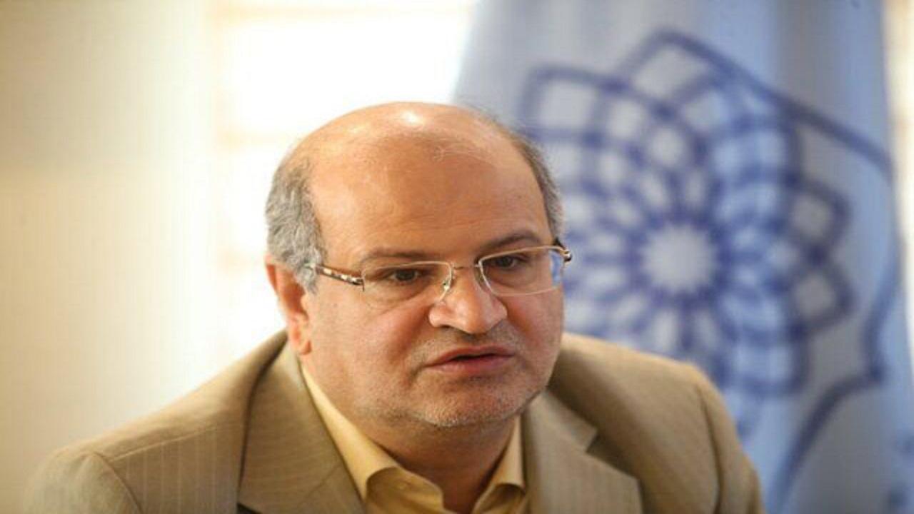وضعیت کرونا در تهران از بان علیرضا زالی