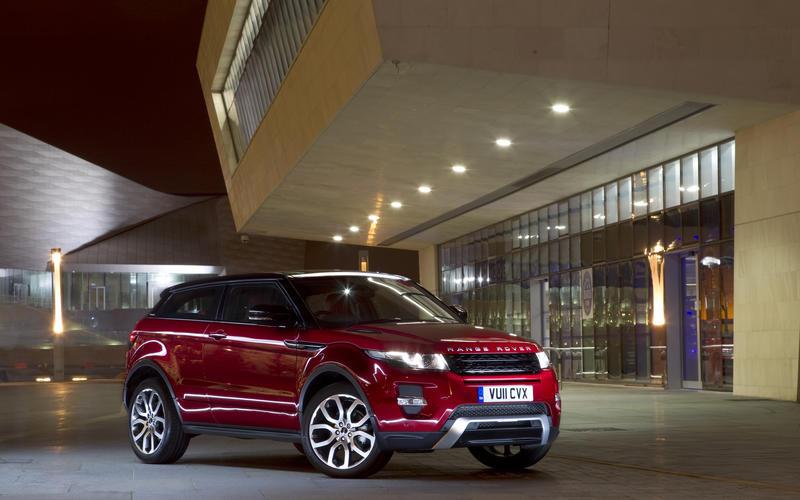 خودروی Range Rover Evoque محصول سال ۲۰۱۱
