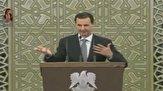 باشگاه خبرنگاران - لحظه افت فشار خون بشار اسد در پارلمان جدید سوریه + فیلم