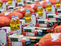 توزیع ۱۳ هزار بسته غذایی به خانوادههای نیازمند ملایر