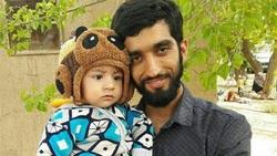 ویدئویی دیدنی از شهید حججی و فرزندش