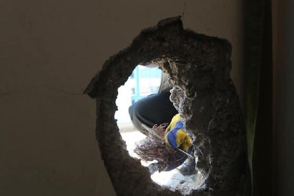 جنگندههای رژیم صهیونیستی مدرسهای را در غرب غزه هدف قرار دادند+ تصاویر
