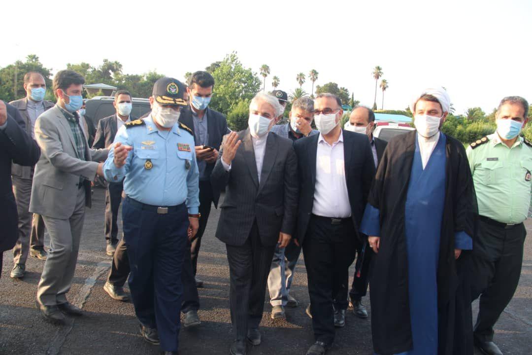 معاون رئیس جمهور از مجتمع آموزشی نجات خدمه نیروی هوایی ارتش بازدید کرد
