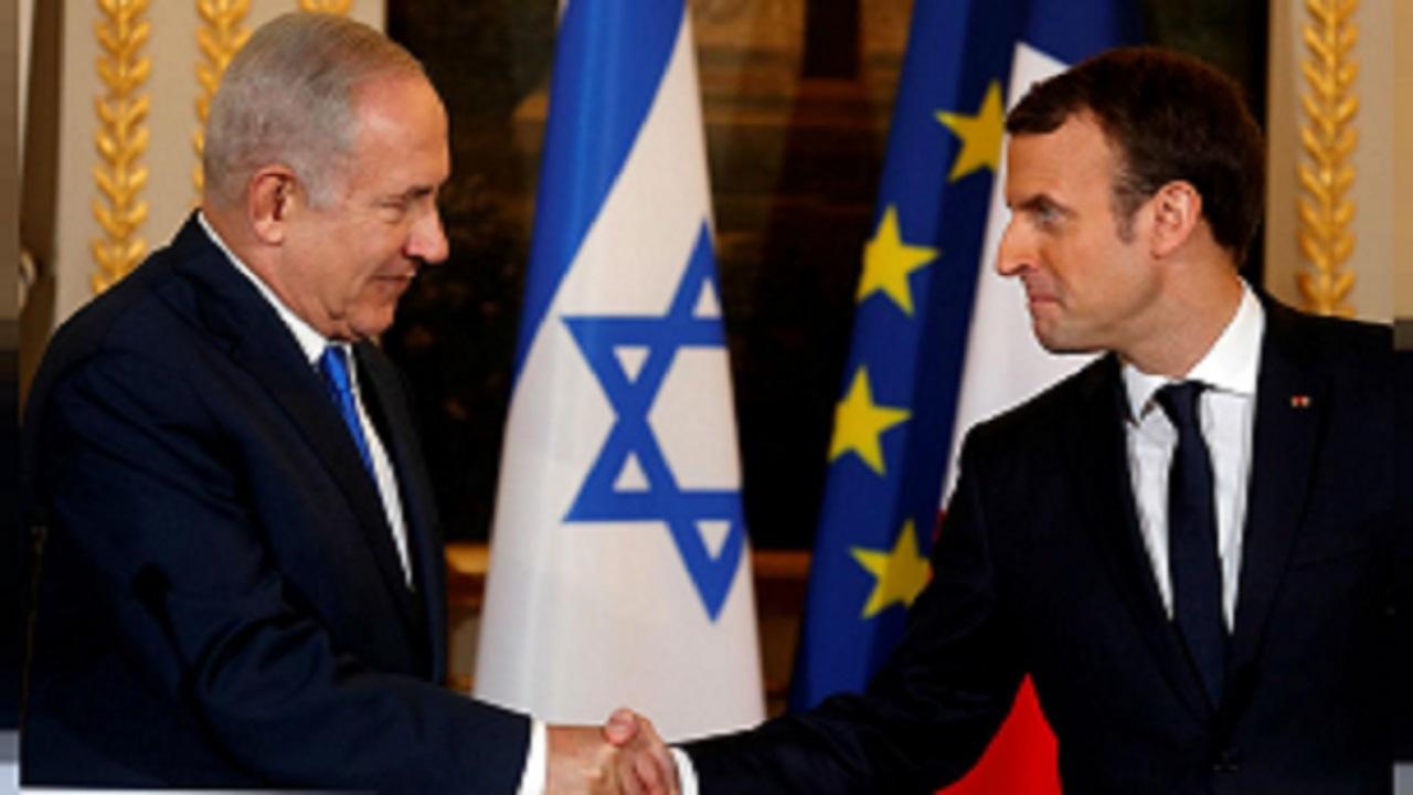 مکرون توافق امارات و رژیم صهیونیستی را «تصمیمی شجاعانه» توصیف کرد